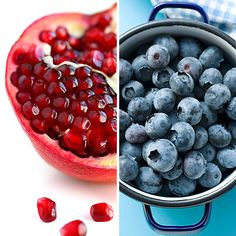 Blueberry-Pomegranate Smoothie