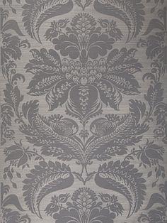 DecoratorsBest - Detail1 - Stroheim 0665804 - TOWNSEND SISAL - Slate On Gray - Wallpaper - DecoratorsBest