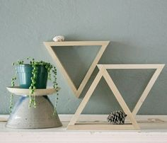 "Set of 8"" Decorative Triangles"