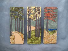 Beautiful Northern Michigan Landscapes @ Bechler Pottery.com, Michigan Ceramic Artists.