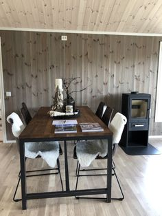 Ski Chalet, Conference Room, Dining Table, Furniture, Home Decor, Beige, Chalets, Homemade Home Decor, Diner Table