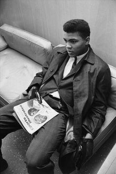 Muhammed Ali (Cassius Clay - Monopoly), Louisville, Kentucky, 1963  Photography by Steve Schapiro