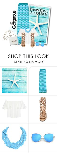 """""""nr 1181 / Shimmy, Shimmy: Off-Shoulder Tops"""" by kornitka ❤ liked on Polyvore featuring Missoni, Valentino, Gianvito Rossi, Humble Chic and showsomeshoulder"""