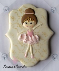 A #2015favourites is this cute ballerina this beautiful stencil is from @magicstencilss