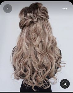 Blond Ombre, Ombre Hair Color, Purple Ombre, Hair Colors, Loose Hairstyles, Braided Hairstyles, Beautiful Hairstyles, Hair Flow, Hair Extensions Best