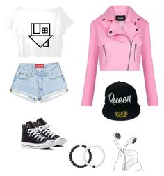 """Character Wardrobe// Singer"" by radioactivenovas on Polyvore featuring Converse, Lovers + Friends, Lokai and Collectif"