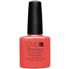 CND Creative Nail Design Shellac - Desert Poppy