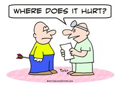 Doctor and Patient Cartoon | Cartoon: arrow doctor where hurt patient (medium) by rmay tagged arrow ...