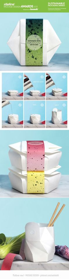 Food packaging - sustainable thinking - awesome!: