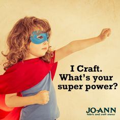 #MondayMantra : I Craft. What's your super power? #craft #diy #crafting #craftquote