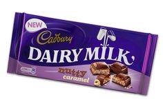 WANT TO TRY: Cadbury Dairy Milk Nutty Caramel | Cadbury.co.uk