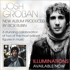 Josh Groban, this album has a pic of him in front of Watchtower building. Too cool!