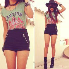 Ideas de outfits que te harán usar shorts toda la primavera