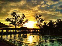Sunset in Club Med Phuket
