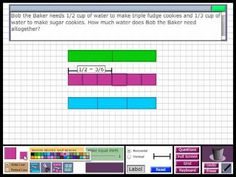 Singapore Math - Fractions with Different Denominators video