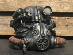 Personal Fallout 3 T-45d power armor helmet.