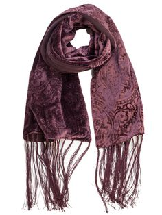 silk velvet embossed evening wrap. Lined with silk crepe Georgette and finished with a hand knotted fringe, this gorgeous embossed silk velvet evening wrap is sure to turn heads! Pure luxury from Italy.