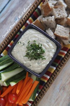 Cannellini Bean and Mint Hummus | A Dish of Daily Life #vegan #glutenfree #appetizer