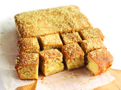 Cinnamon and Bramley Apple Tray Bake from Colossal Cake Sale sponsors, Whitworths Sugar