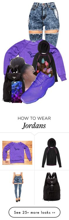 """Can't Get Enough"" by aniahrhichkhidd on Polyvore featuring Prada and Uncommon"