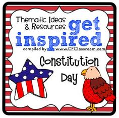 Constitution Day Activities, Ideas, Printables and Resources for K-5