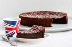 Le gateau parfait! Sans beurre en plus bon pour les fesses!  Fondant au chocolat // Melting chocolate cake