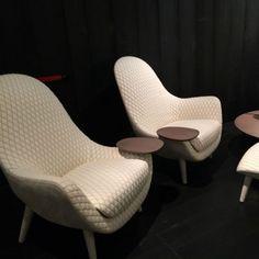 Gesteppte Sessel bei Poliform
