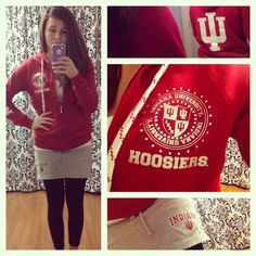 OOTD | This. Is. Indiana. ❤ @TheDressDare @PluckyPicaroon #thedressdare #Indiana #IU