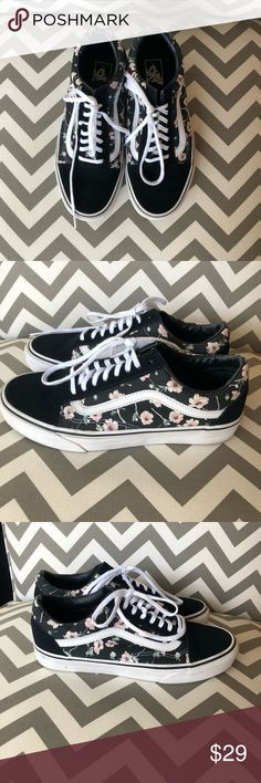 3e4cada789 Shop Women s Vans Black Pink size 9 Sneakers at a discounted price at  Poshmark. Size 9 women s- men s.