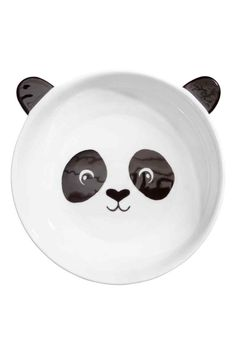 Hluboký talíř s motivem - Bílá/černá - HOME   H&M CZ 1