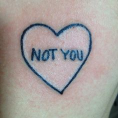Not you heart