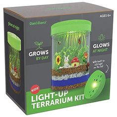 Light-Up Terrarium Kit for Kids - STEM Activities Science Craft Kits - Kids Crafts Gifts is a toy our 6 year old girl loves to play with. These are super popular toys!