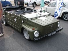 Volkswagen 181, Volkswagen Thing, Vintage Cars, Antique Cars, Combi Vw, Vw Cars, Dream Garage, Vw Beetles, Cars And Motorcycles