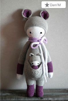 kira / Crocheté en 2,5 vec un 100% coton (Catania de SMC) / lalay lala addicts