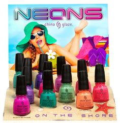 China Glaze NEONS On The Shore Collection Summer 2013 ~ everything2k