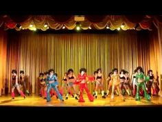 "Популярно-массовый танец ""ДИСКО-80х"", все группы школы танца ПАНТЕРА, Иркутск - YouTube"