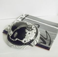 Culturally Accented Paperweight 7 by simplygail on Etsy, $20.00