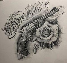Risultati immagini per vitaly morozov skull tattoo Gangsta Tattoos, Chicano Tattoos, Skull Tattoos, Rose Tattoos, Body Art Tattoos, Sleeve Tattoos, Gun Tattoos, Tattoo Sketches, Tattoo Drawings