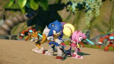 Sonic Boom, new exclusive Sonic games by Sega for #WiiU and #3DS