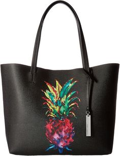 Vince Camuto, Pineapple Tote, playful pineapple, spacious tote, beach brunch, pineapple purse #ad Pineapple Clothes, Pineapple Gifts, Pineapple Print, Thigh Bag, How To Make Handbags, Cute Bags, Beautiful Bags, Clutch Wallet, Tote Handbags