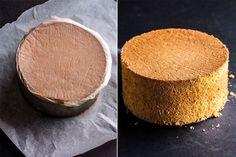 SUKKERBRØD TIPS: Legg den ferdigstekte kaken opp ned på et bakepapir når den kommer ut av ovnen for å bevare saftigheten samt få den fine, flate toppen. Foto: Stian Broch/StianBroch.com (fra boken «Kaker og desserter»)
