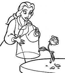 Resultado De Imagem Para Belle E A Fera Para Colorir Desenhos Para Colorir Disney Desenhos Pintar