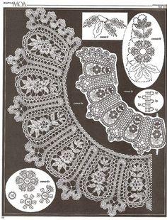 croche: Shawl scarf