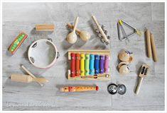 Les instruments de musique pour tout-petit / bébé / enfants