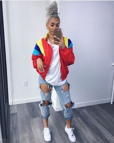 What Anxiety Feels & Looks Like Chill Outfits, Dope Outfits, Trendy Outfits, Summer Outfits, Urban Fashion, Look Fashion, 90s Fashion, Fashion Outfits, Womens Fashion