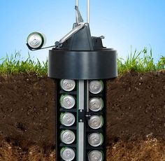 ビールは「土の中で冷やす」のが1番!? 電力要らずで超エコ、地中に埋め込んで使用する斬新なビールクーラーを見つけたよ!