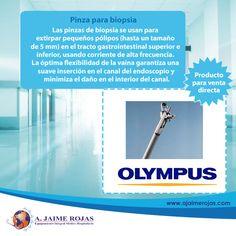 La amplia gama de pinzas de biopsia de #Olympus ofrece un número de ventajas para satisfacer las necesidades de varios requisitos clínicos