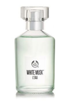 White Musk L`Eau The Body Shop for women and men (2017)...  The White Musk® L'Eau fragrance is sweetened with notes of pear for a deliciously fruity layer that fits effortlessly with the iconic floral blend lily of the valley, jasmine and rose essence. Perfume rating: 4.50 out of 5 with 5 votes. WANT!!!