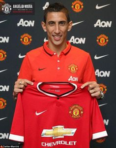 Manchester United announced the signing of Di Maria on Tuesday night