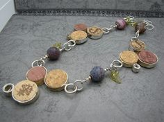 Wine cork necklace - *Inspiration*